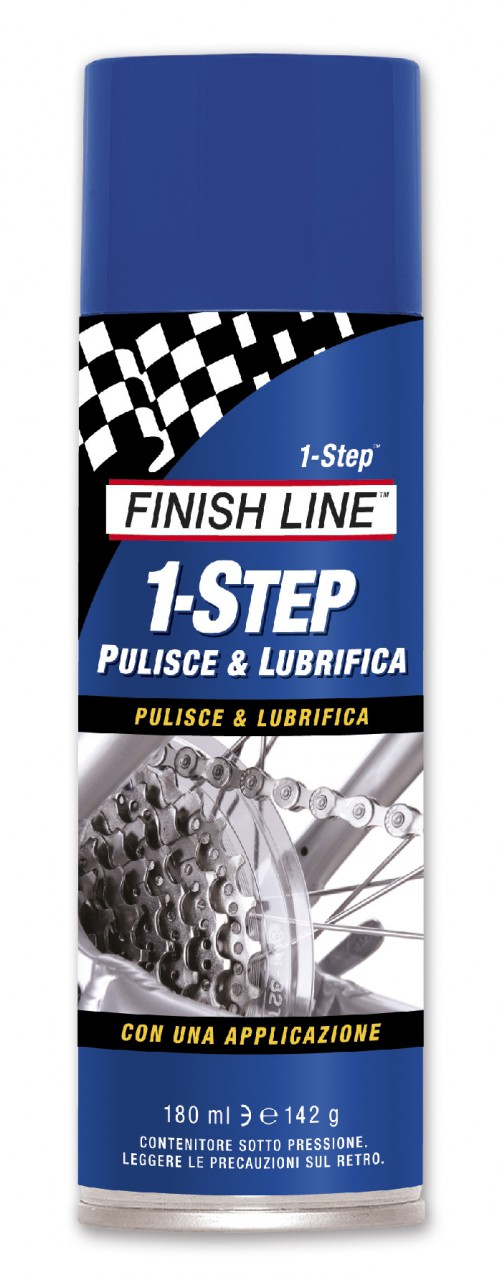 Lubrificante / Pulente Finish Line 2 in 1 Spray Aerosol 180 ml.