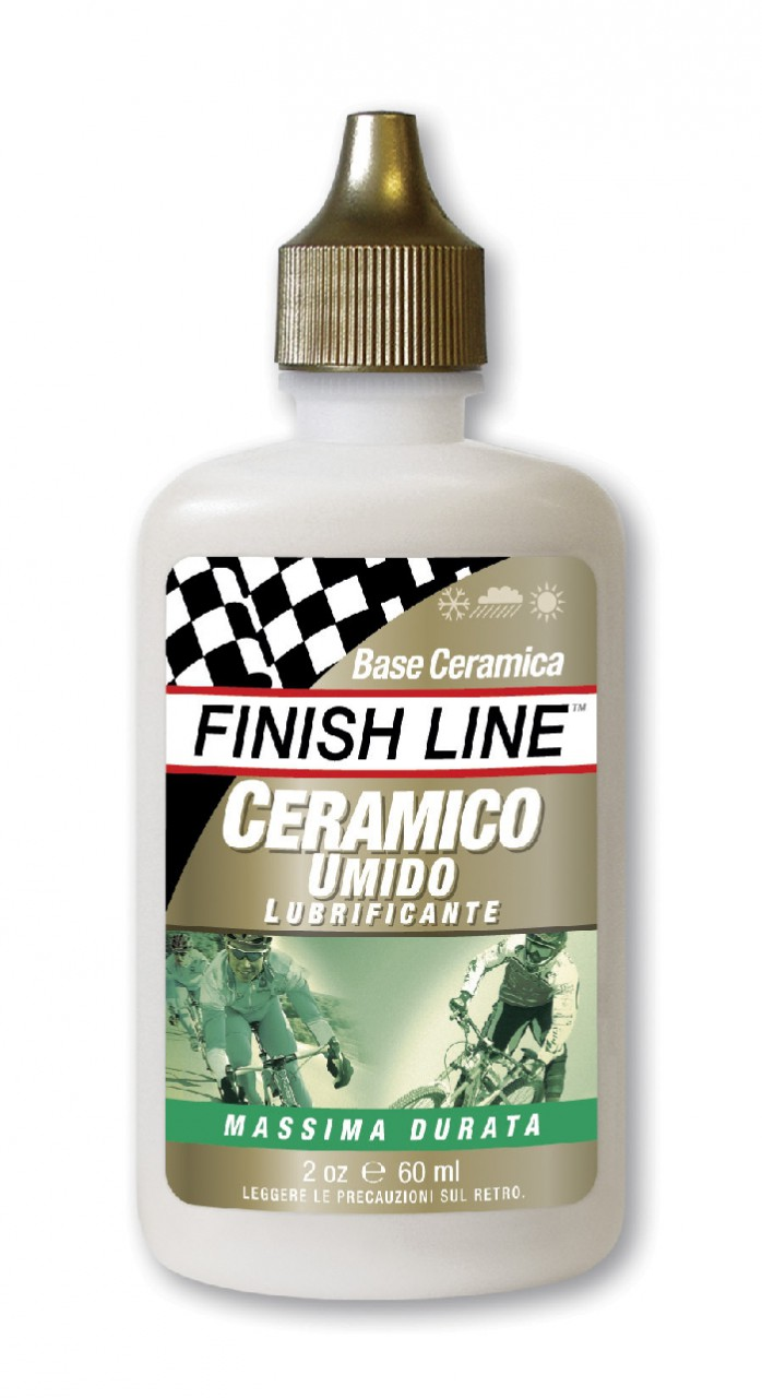 Lubrificante Umido a Base Ceramica per Bici FinishLine 60 ml.