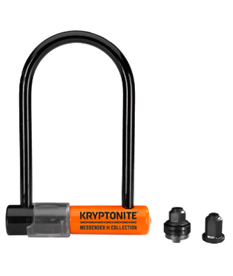 Lucchetto Kryptonite U-Lock Messenger The Total Package
