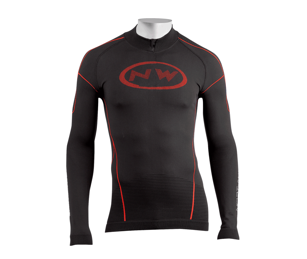 Maglia Intimo Ciclismo Northwave Evolution Tech BLACK-RED