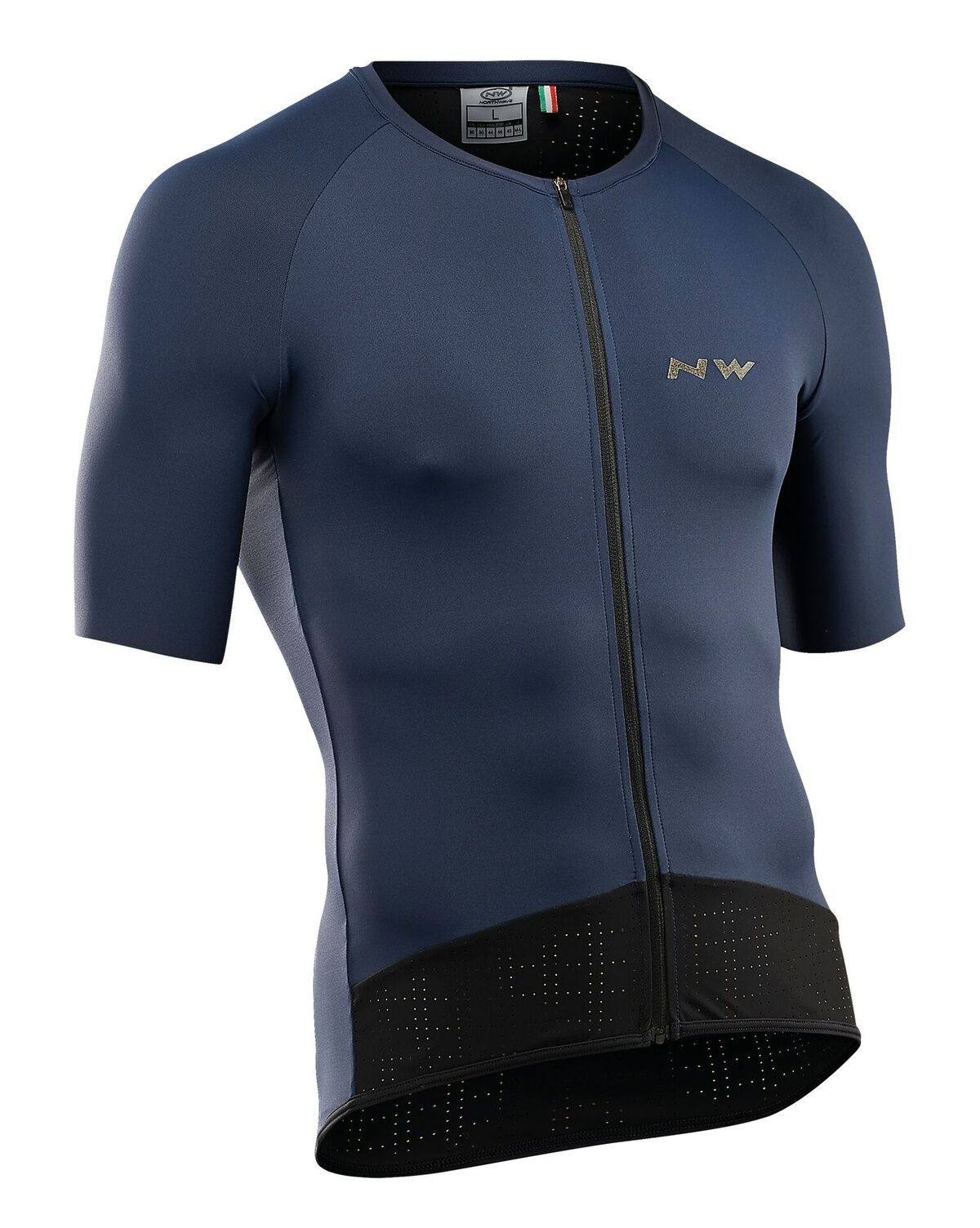 Maglia Ciclismo Maniche Corte Northwave Storm Air Jersey Short Sleeves BLUE