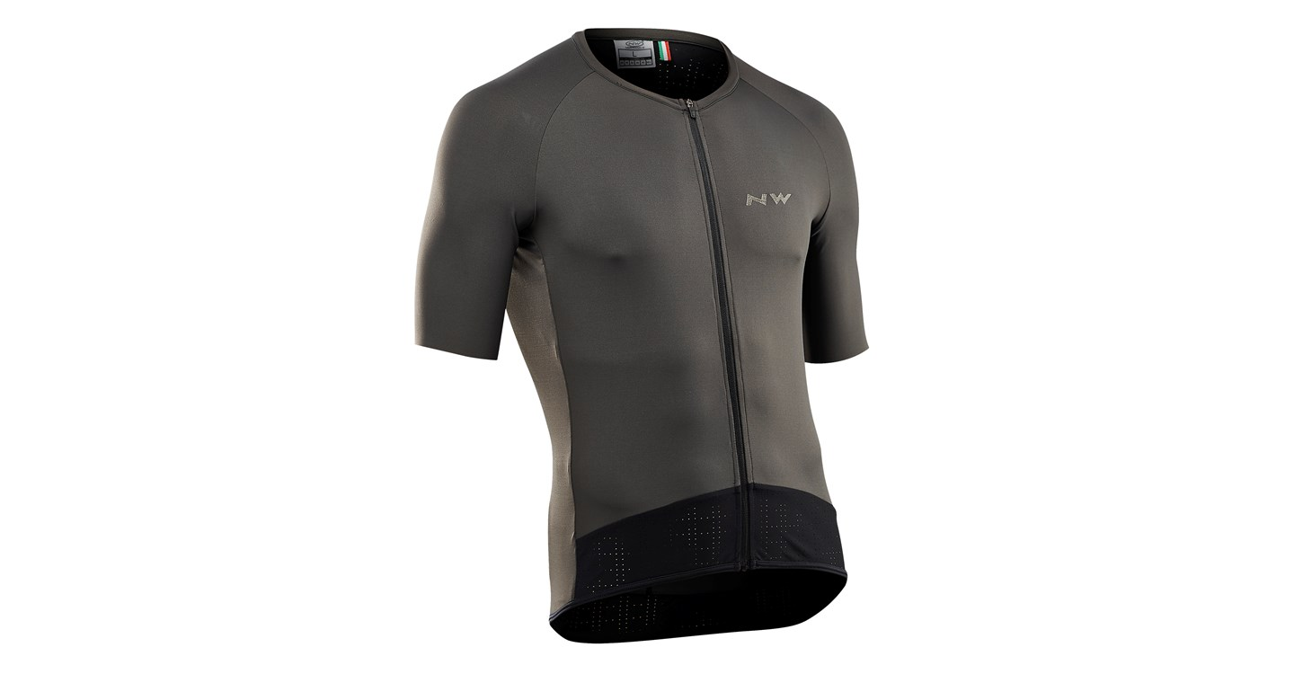 Maglia Ciclismo Maniche Corte Northwave Storm Air Jersey Short Sleeves GRAPHITE