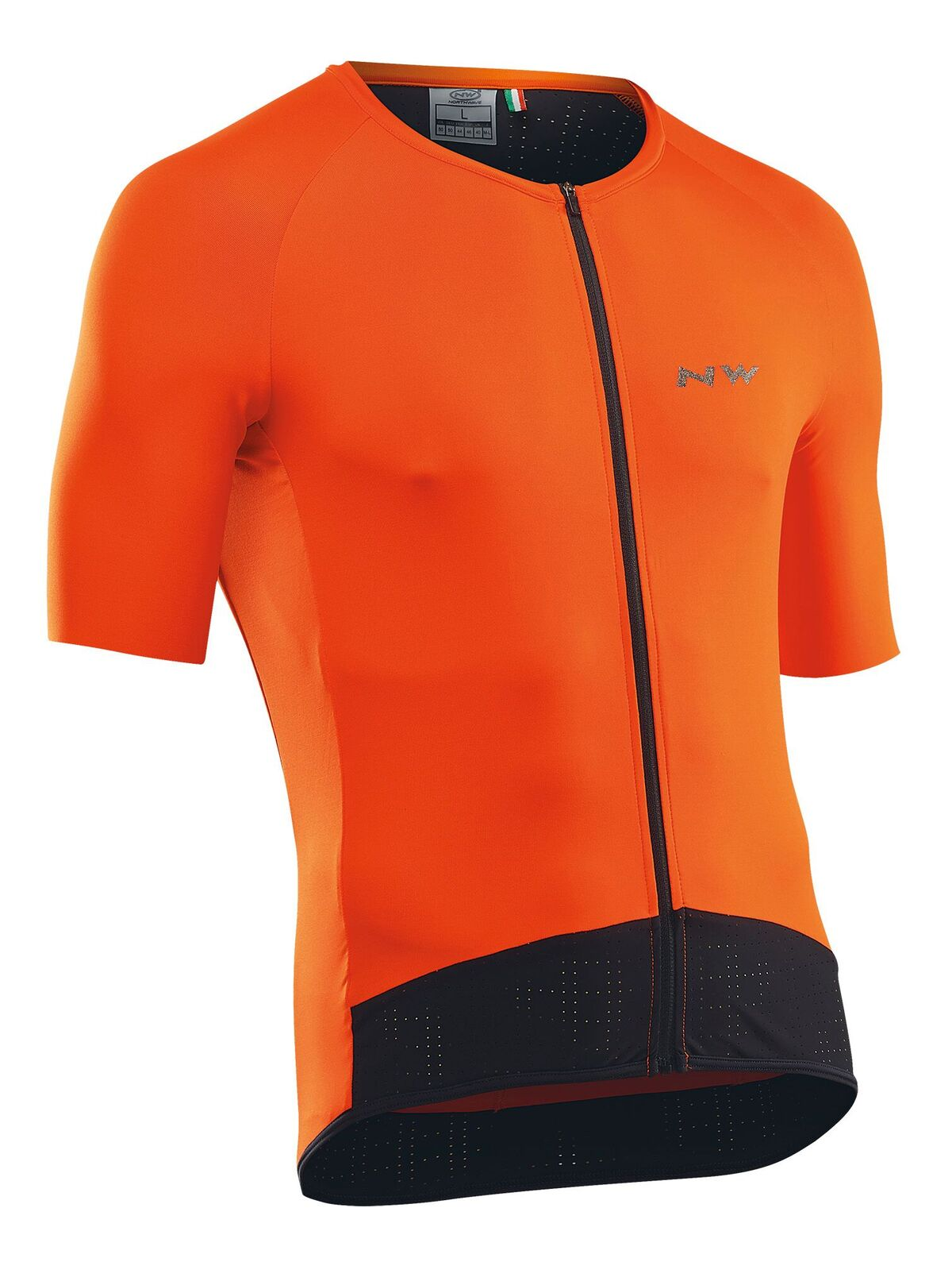 Maglia Ciclismo Maniche Corte Northwave Storm Air Jersey Short Sleeves ORANGE
