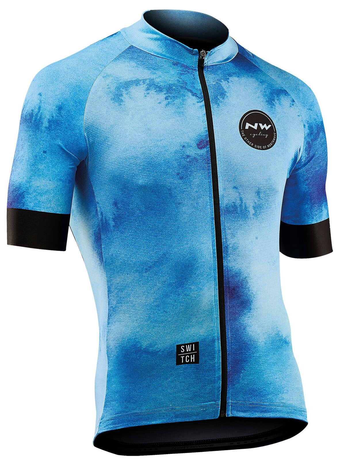 Maglia Ciclismo Maniche Corte Northwave Iceland Jersey Short Sleeves AZURE