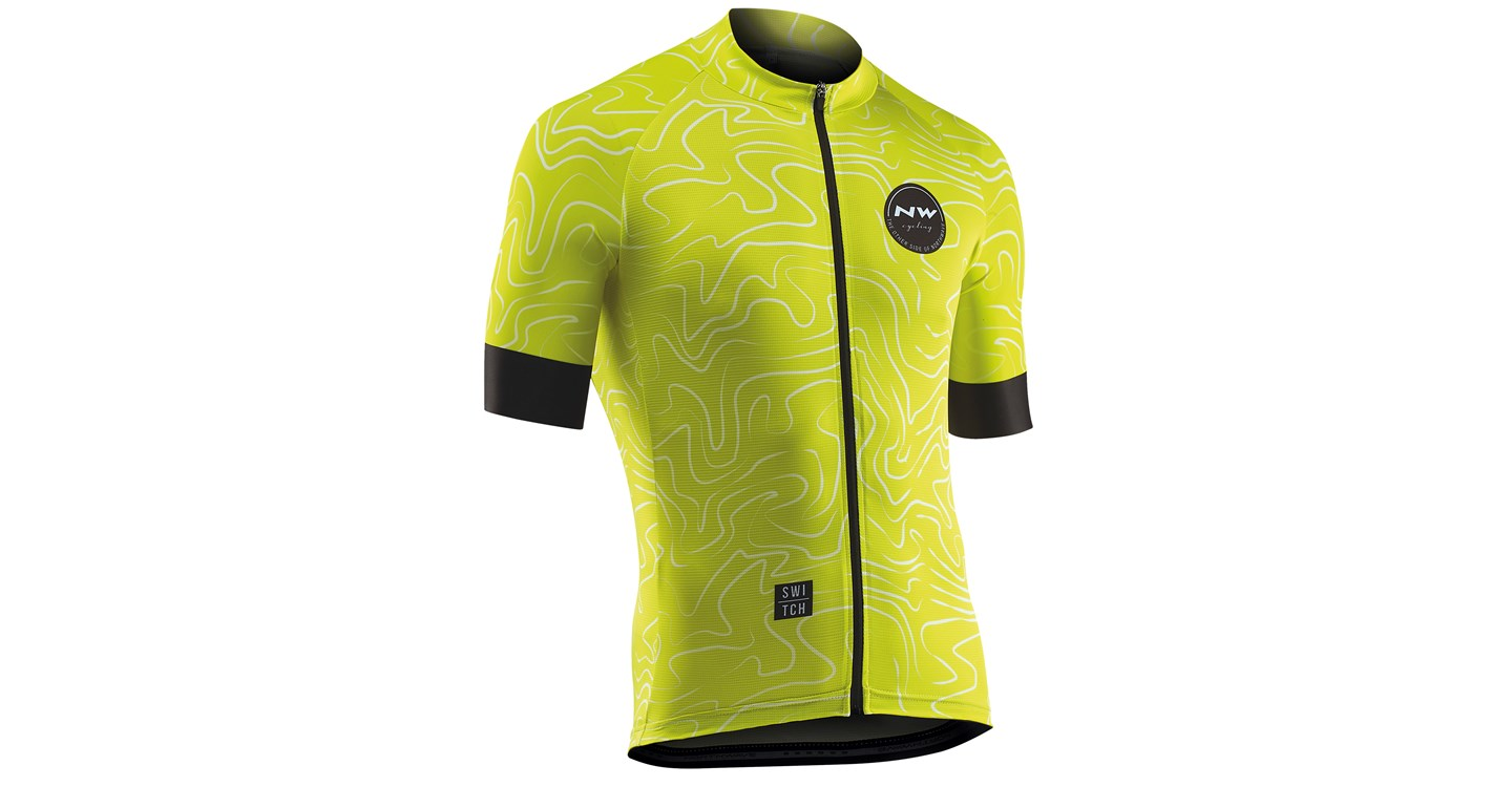 Maglia Ciclismo Maniche Corte Northwave Lemonade Jersey Short Sleeves LEMON