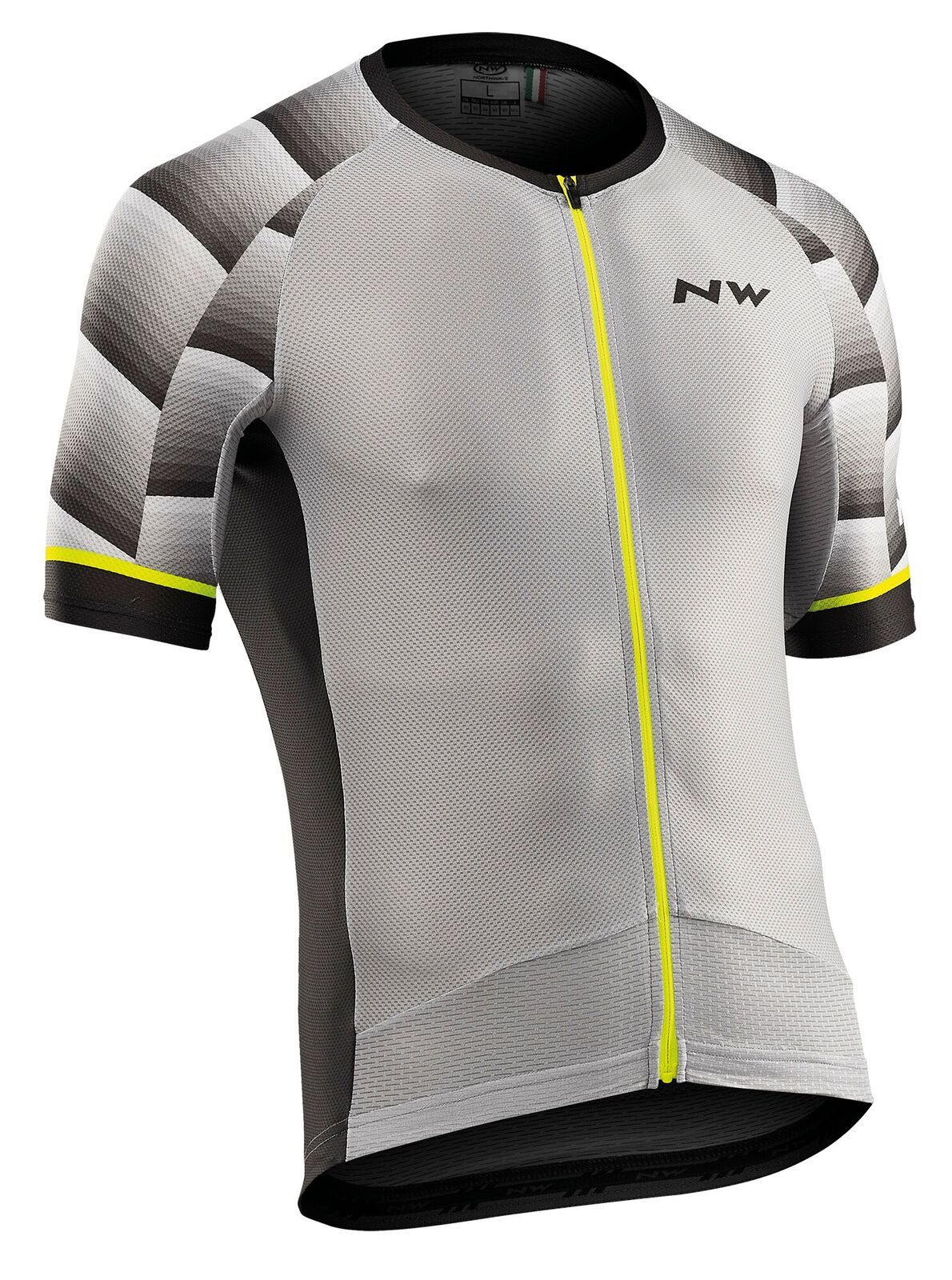 Maglia Ciclismo Maniche Corte Northwave Storm Air Jersey Short Sleeves LIGHT GREY