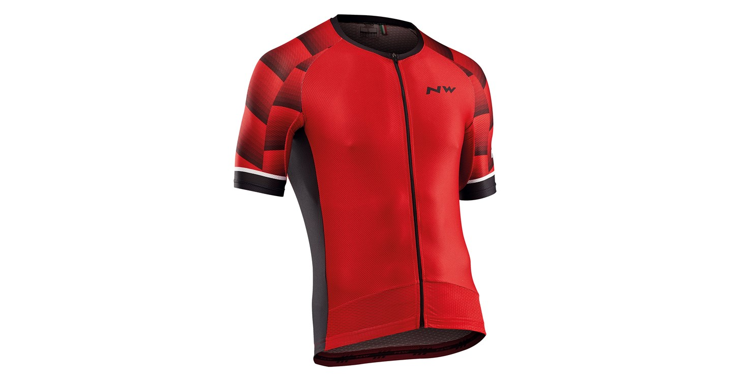 Maglia Ciclismo Maniche Corte Northwave Storm Air Jersey Short Sleeves RED