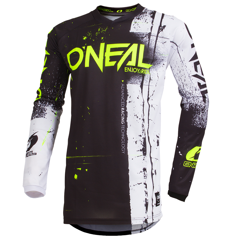 Maglia O'Neal maniche lunghe ELEMENT Shred BLACK