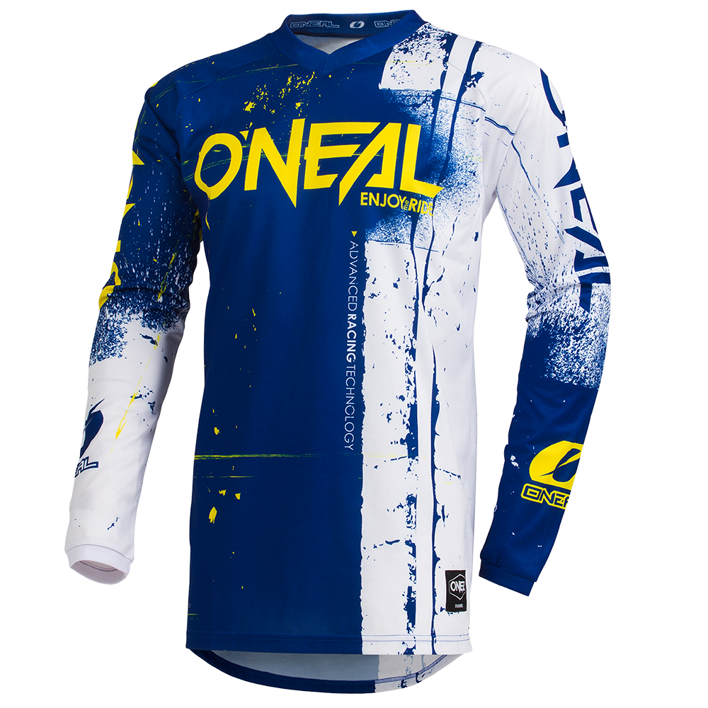Maglia O'Neal maniche lunghe ELEMENT Shred BLUE