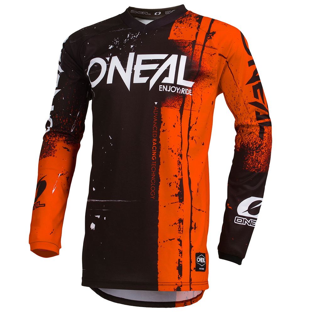 Maglia O'Neal maniche lunghe ELEMENT Shred ORANGE