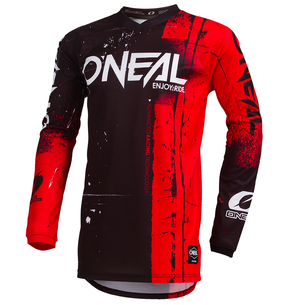Maglia O'Neal maniche lunghe ELEMENT YOUTH Shred RED