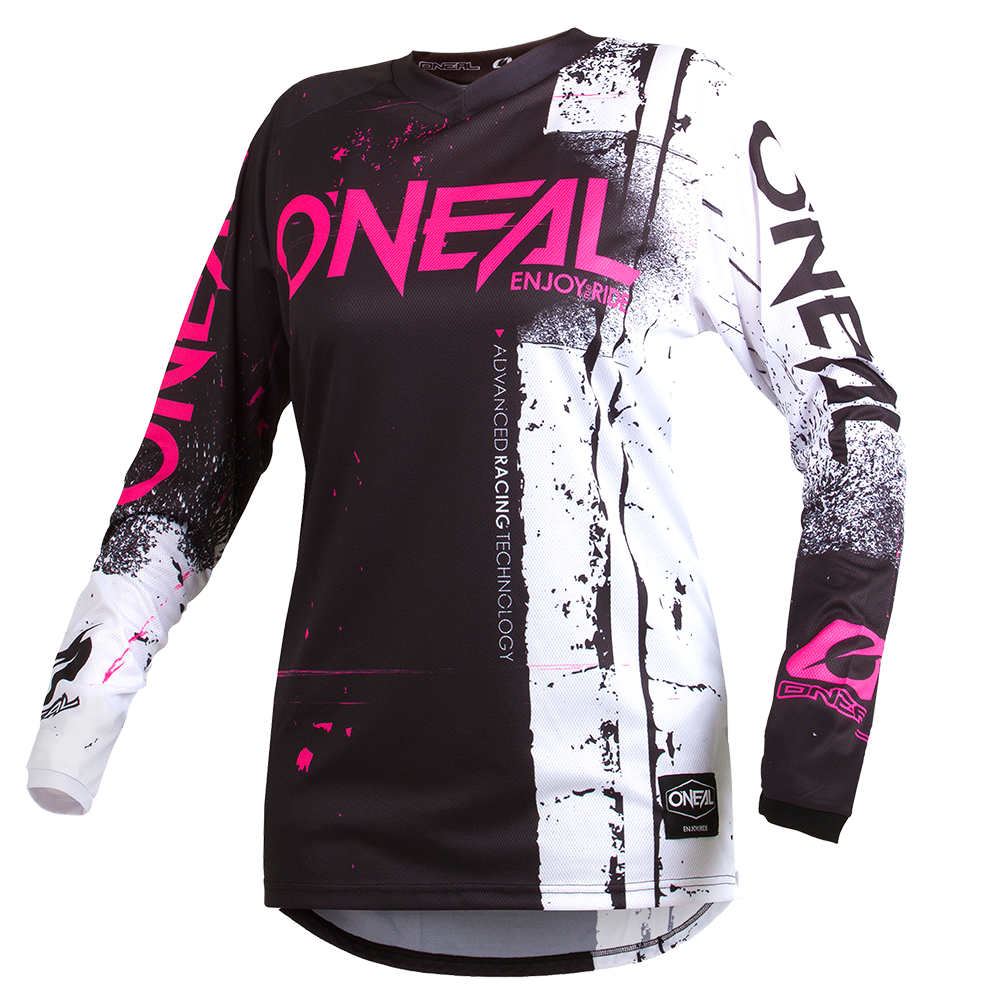Maglia O'Neal maniche lunghe ELEMENT WOMEN Shred PINK