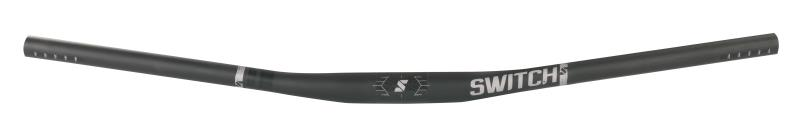 Manubrio MTB Manual Flat Bar Carbonio 31,8 mm. NERO