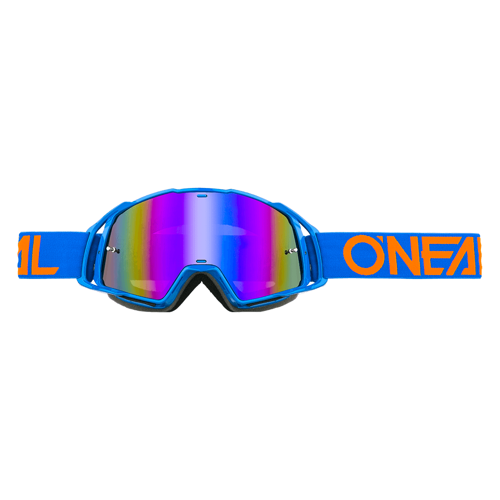 Maschera O'Neal B20 Flat Radium Blue UNICA BLUE/ORANGE