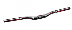 MTB Manubrio ITM Alcor 80 MTB - 31,8 mm,680mm,nero,anodizz.all. 6061 sr