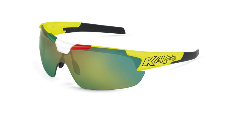 Occhiale Kayak Nowind  GIALLO FLUO