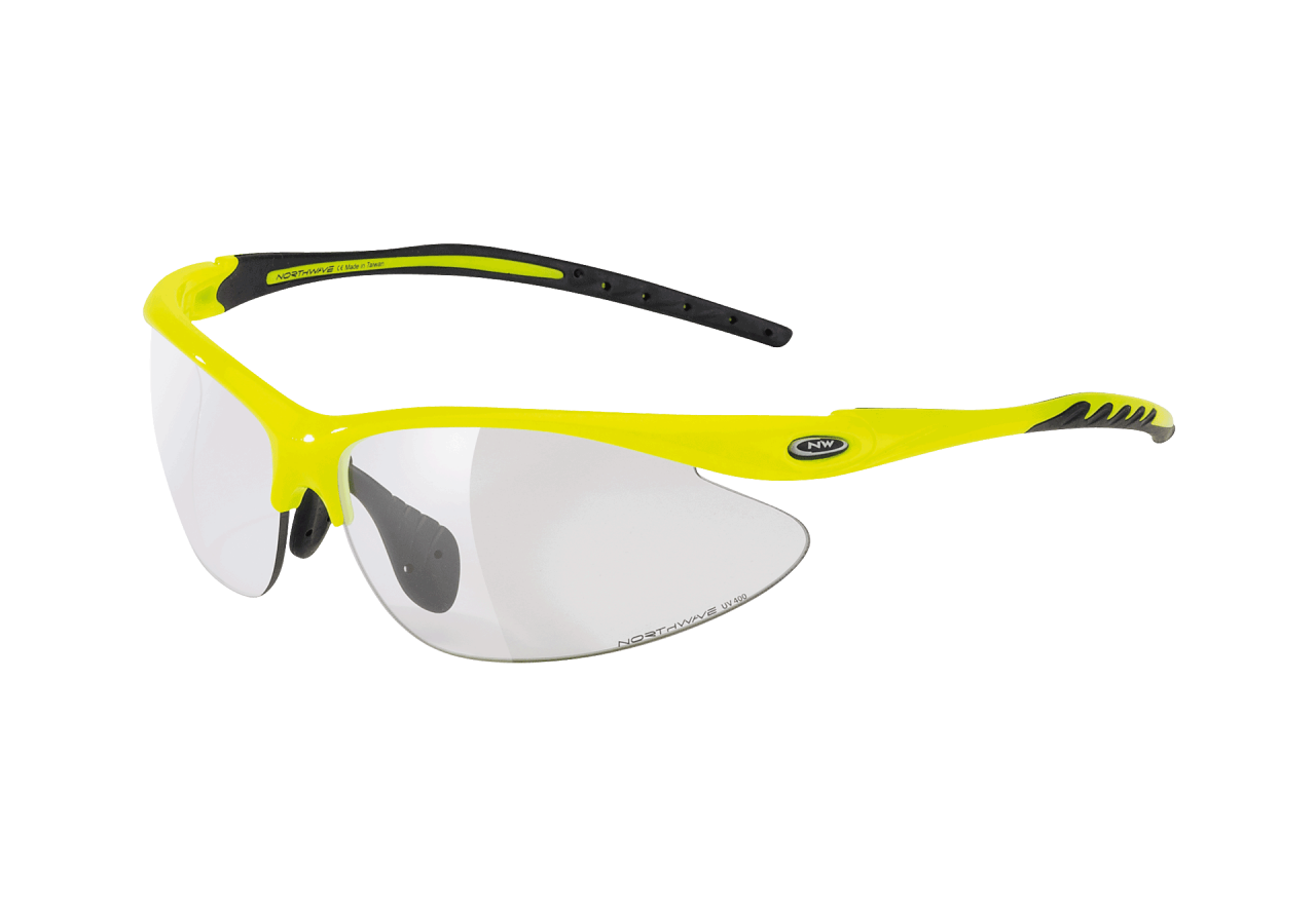 Occhiali ciclismo Northwave Team Photocromatic  YELLOW FLUO-BLACK