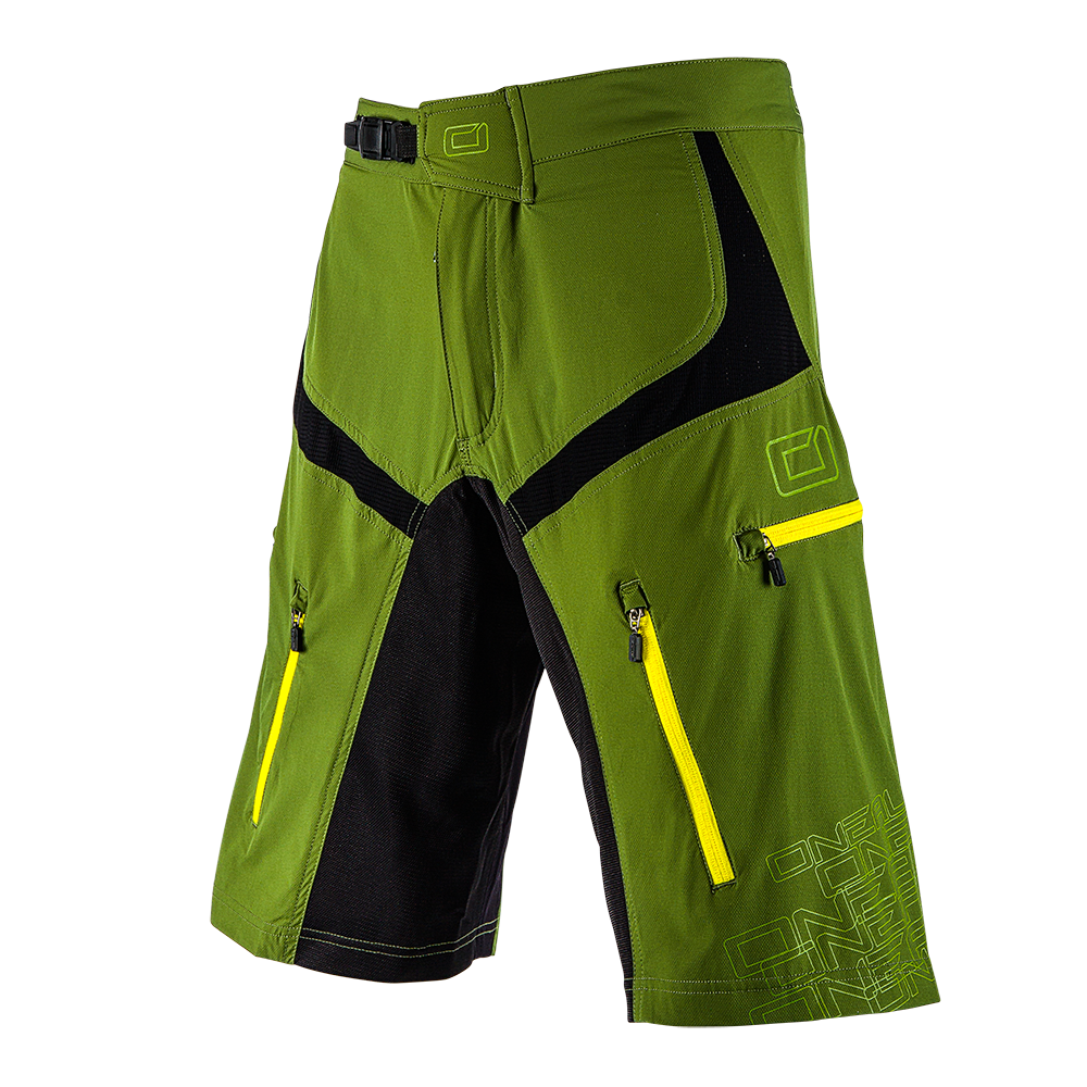 Pantaloni corti O'Neal PIN IT III GREEN