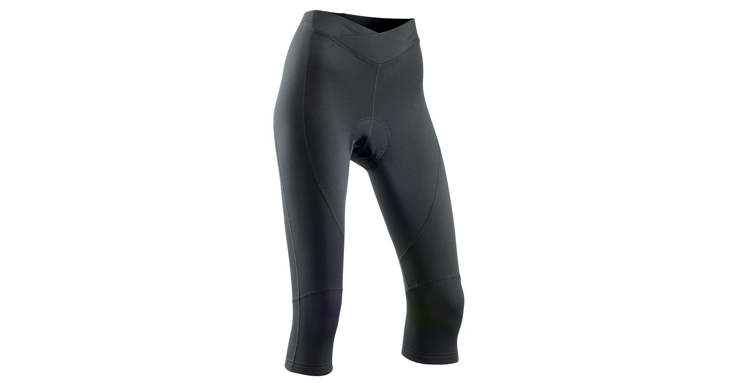 Pantaloni Donna Ciclismo Lunghi Northwave Crystal 2 Knickers Mid Season BLACK