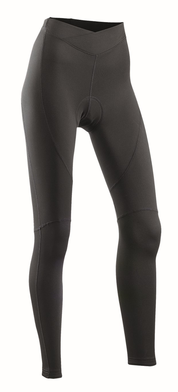 Pantaloni Donna Ciclismo Lunghi Northwave Crystal 2 Tights Mid Season BLACK