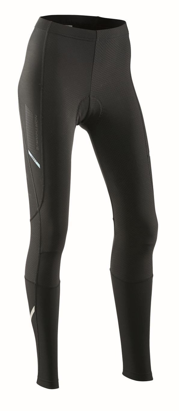 Pantaloni Donna Ciclismo Lunghi Northwave Swift Tights Mid Season BLACK