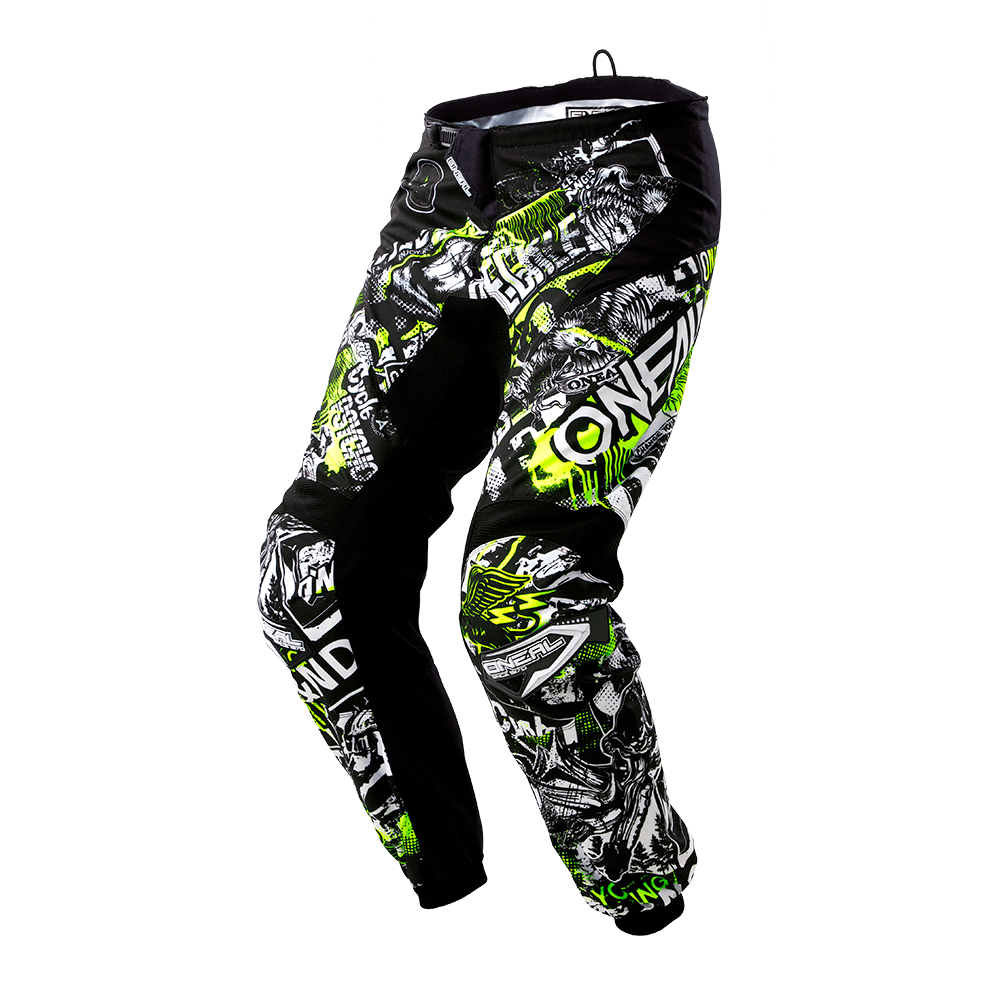 Pantaloni lunghi O'Neal ELEMENT YOUTH Attack BLACK/HI-VIZ