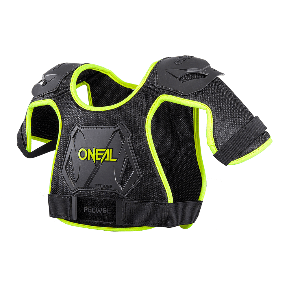 Pettorina per bambini O'Neal PEEWEE CHEST GUARD NEON YELLOW
