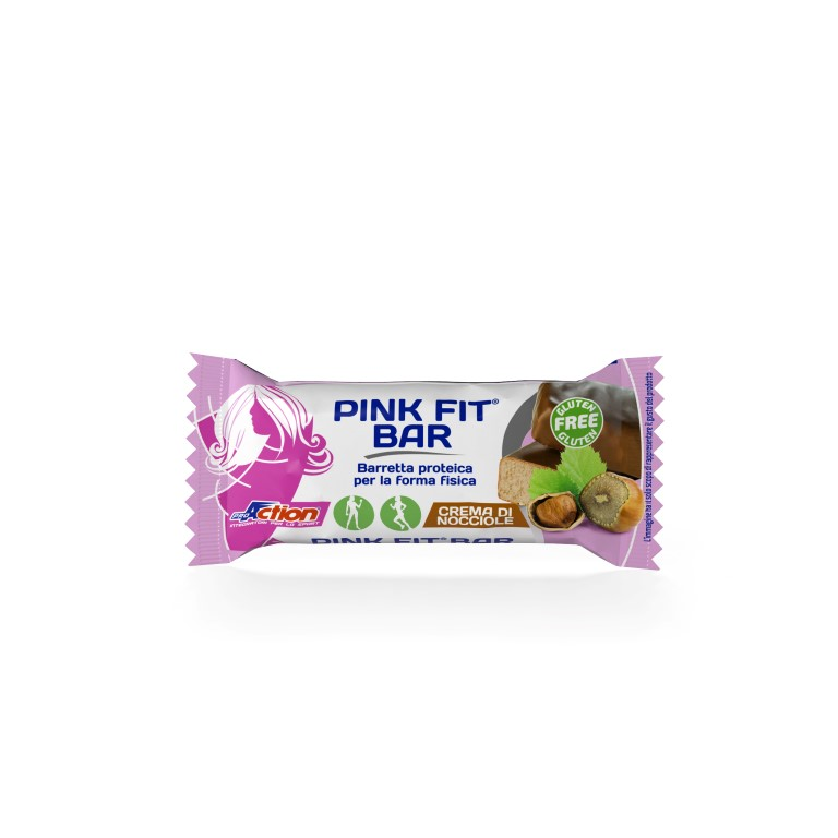 ProAction PINK FIT BAR Crema di Nocciole - Barretta 30 gr.