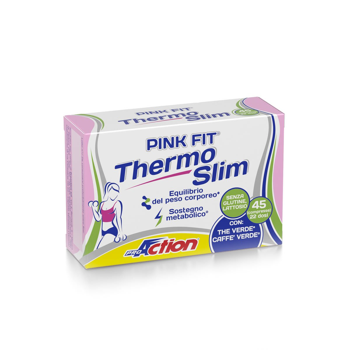 ProAction PINK FIT THERMO SLIM - Scatola 45 cpr.