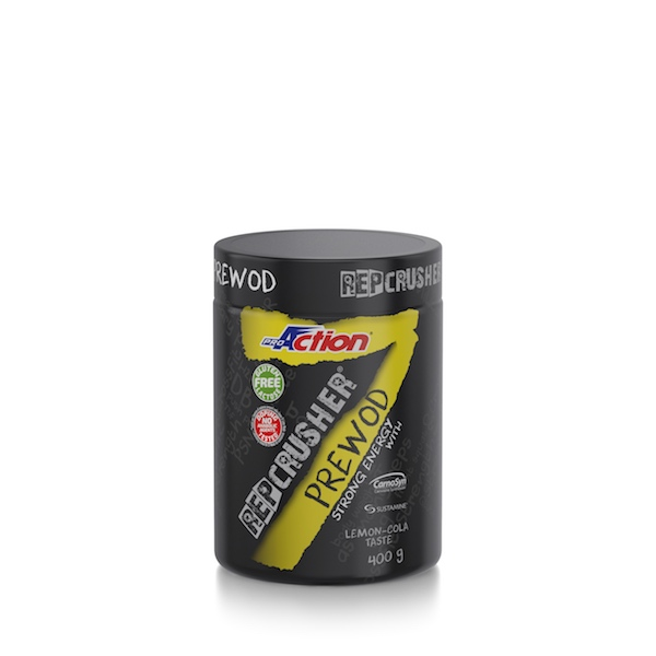 ProAction REP CRUSHER PREWOD - Pre workout Barattolo 400 gr.