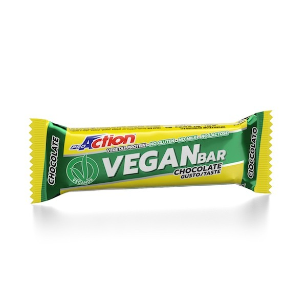 ProAction VEGAN BAR Cioccolato - Barretta 40 gr.