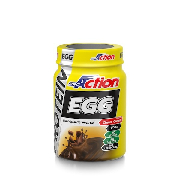 ProAction PROTEIN EGG Cacao - Barattolo 500 gr.