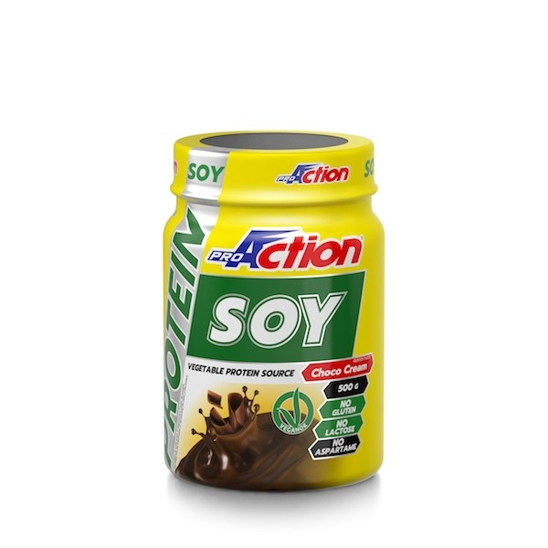 ProAction PROTEIN SOY Choco Cream - Barattolo 500 gr.