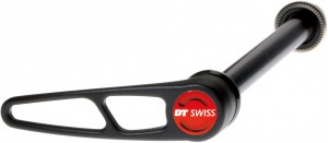 QR RP DT Swiss RWS thru bolt - QR in allu,  10mm/135mm c.leva in allu
