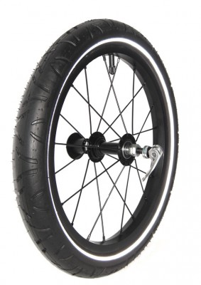 "Ruota 16"" per Walkerset Croozer - per Croozer Kid Plus nero dal 2015"