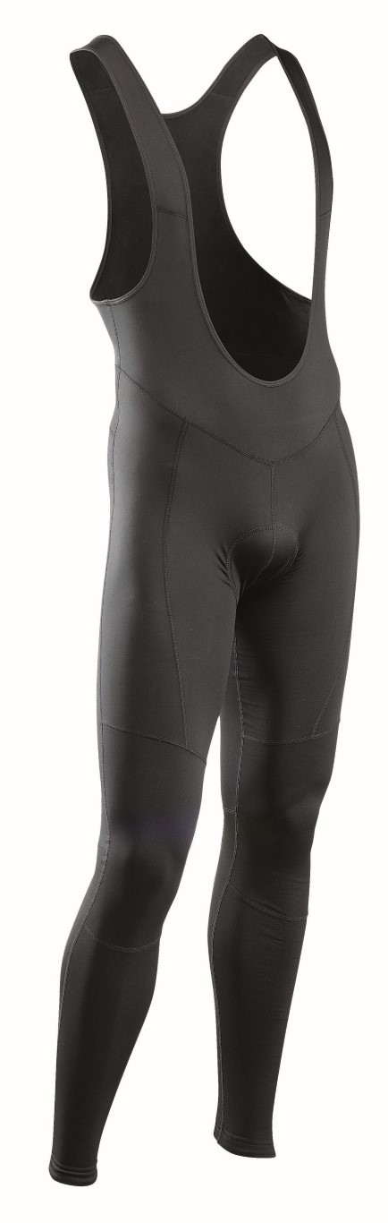 Pantaloni Ciclismo Lunghi a Salopette Northwave Force 2 Bibthights Mid Season BLACK
