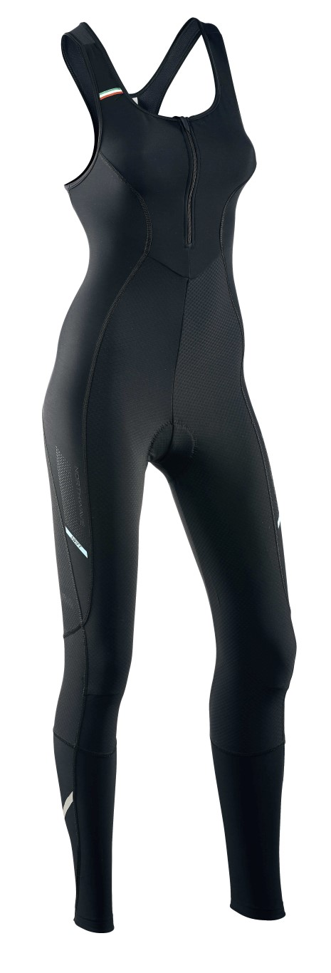 Pantaloni Ciclismo Lunghi a Salopette Northwave Swift Bibtights Mid Season BLACK