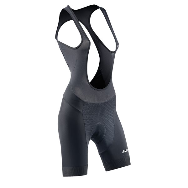 Salopette Donna Corta Northwave Active Woman Bibshort BLACK