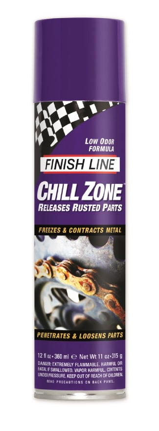 Sbloccante per le Parti Finish Line Chill Zone Spray 360 ml.