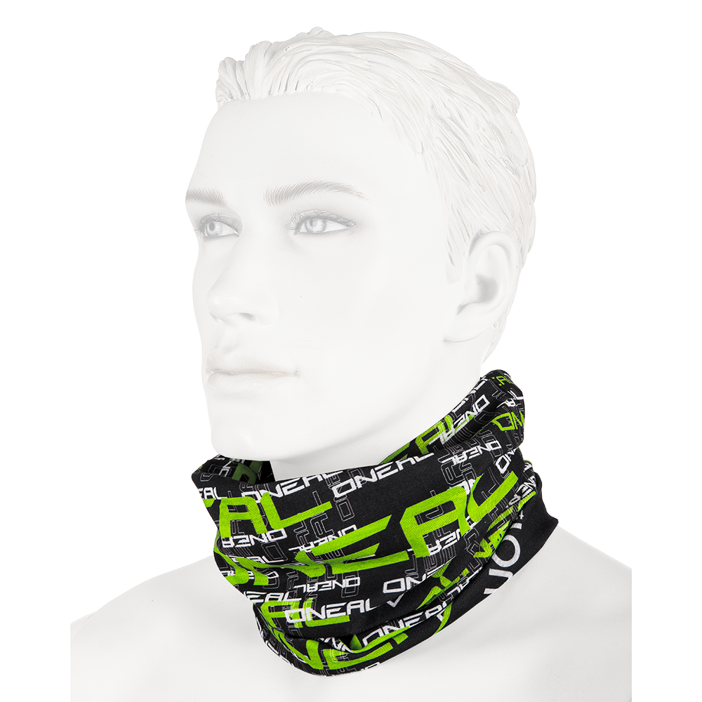 Scaldacollo O'Neal NECKWARMER Matrix UNICA BLACK/GREEN