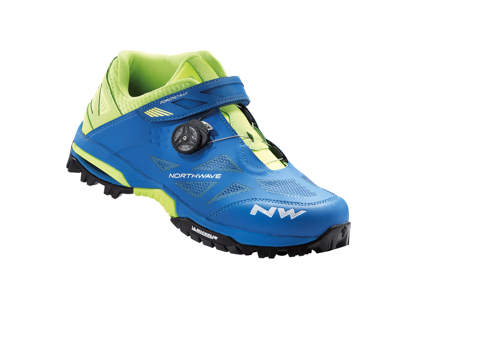 Scarpe Northwave All Mountain Enduro Mid BLUE-YELLOW FLUO
