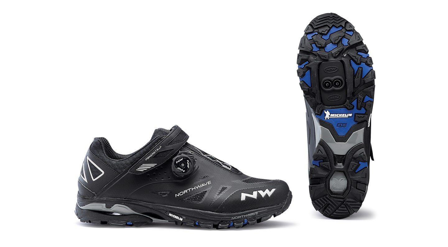 Scarpe MTB Northwave Spider Plus 2 BLACK
