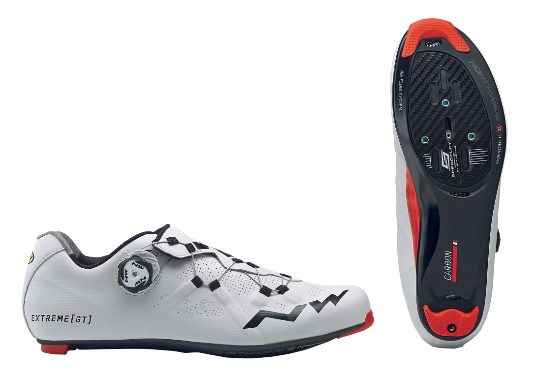 Scarpe Ciclismo Strada Donna Northwave Extreme GT Woman WHITE-BLACK