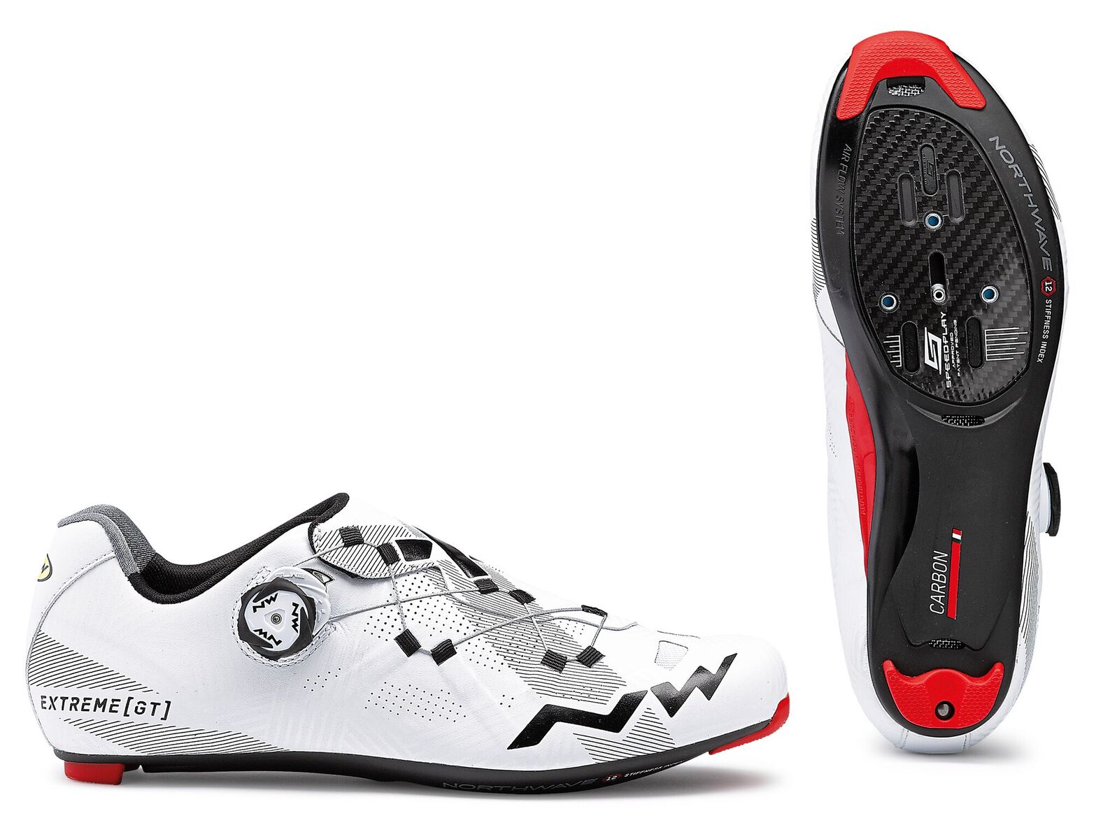 Scarpe Ciclismo Strada Donna Northwave Extreme GT Woman WHITE