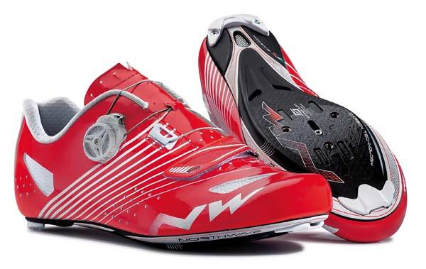 Scarpe Ciclismo Northwave Torpedo Plus RED-WHITE