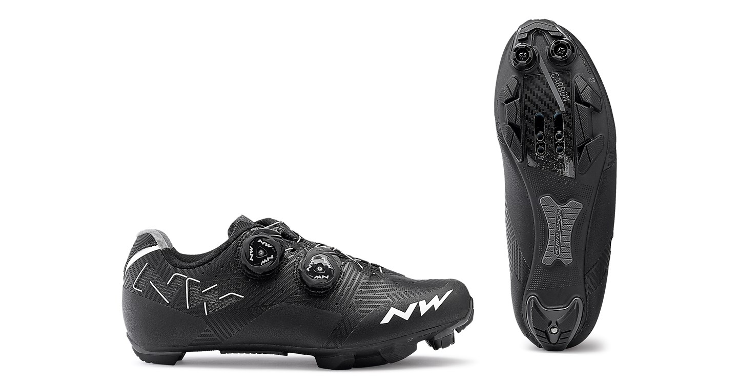 Scarpe Ciclismo MTB Donna Northwave Rebel Wmn BLACK-WHITE