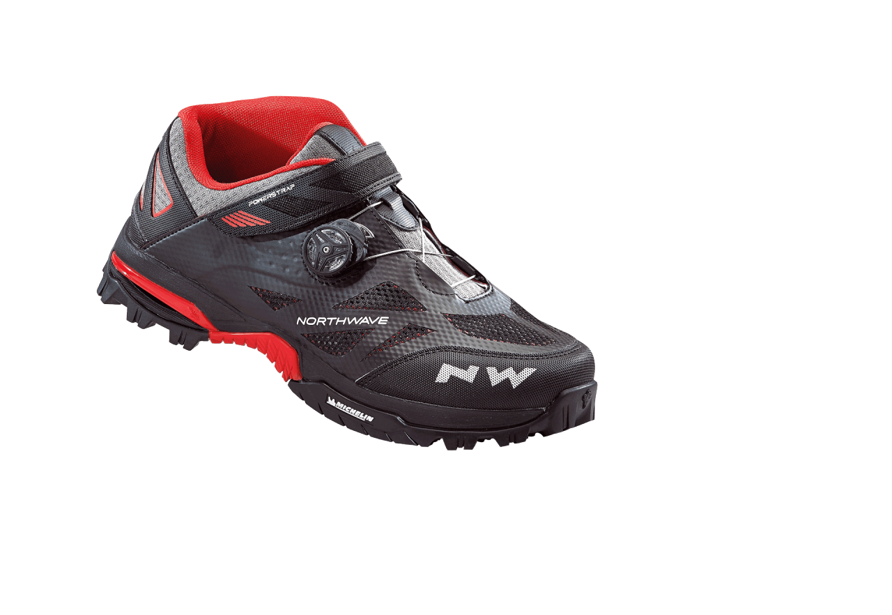 Scarpe Northwave Enduro Mid BLACK-RED