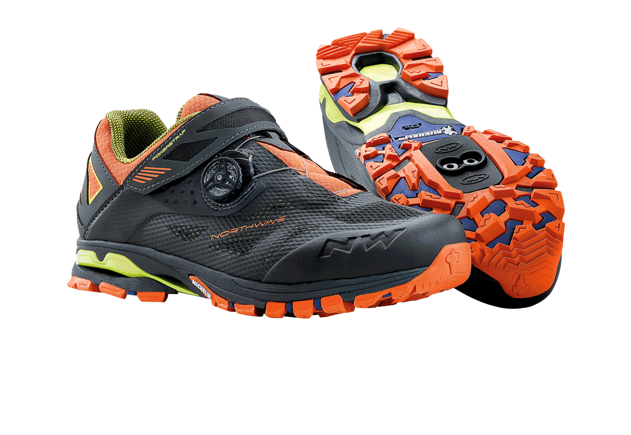 Scarpe Northwave Spider Plus 2 ANTHRA-BLACK-ORANGE