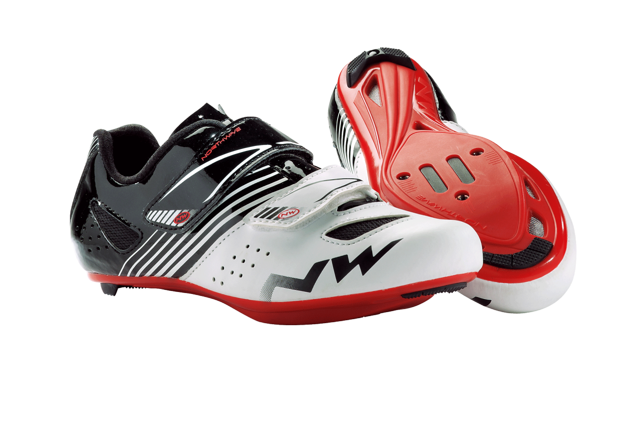 Scarpe Northwave Torpedo Junior WHITE-BLACK-RED