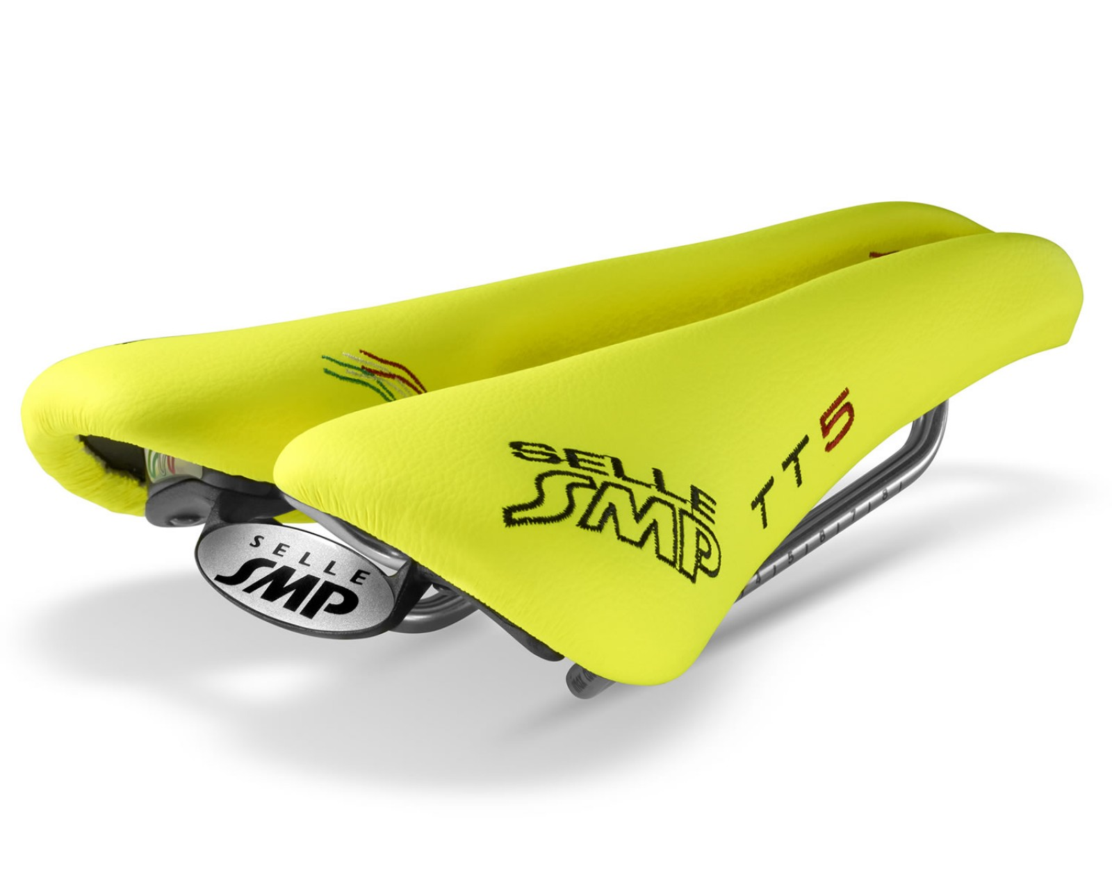 Sella SMP Time Trial TT5 Carbon  GIALLO FLUO